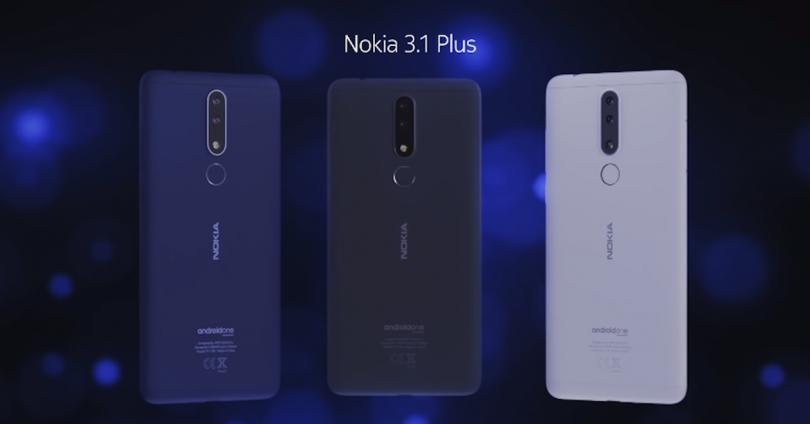 Comprar el Nokia 3.1