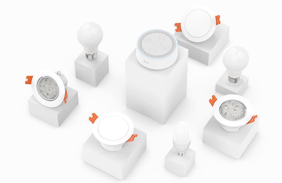 Conjunto bombillas inteligentes Xiaomi Yeelight Mesh