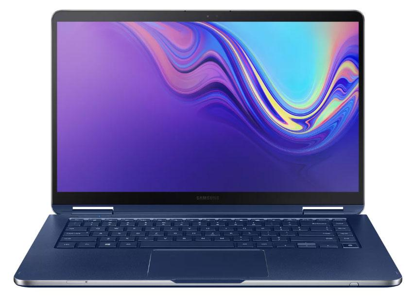 Imagen frontal del convertible Samsung Notebook 9 Pen