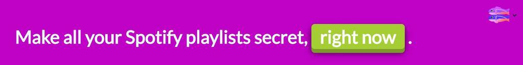 hacer privada lista Spotify