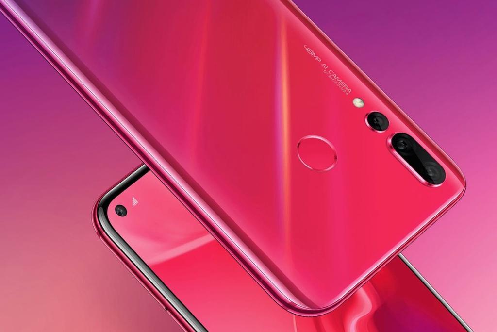 Lector de huellas Huawei Nova 4