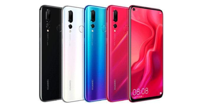 Colores del Huawei Nova 4