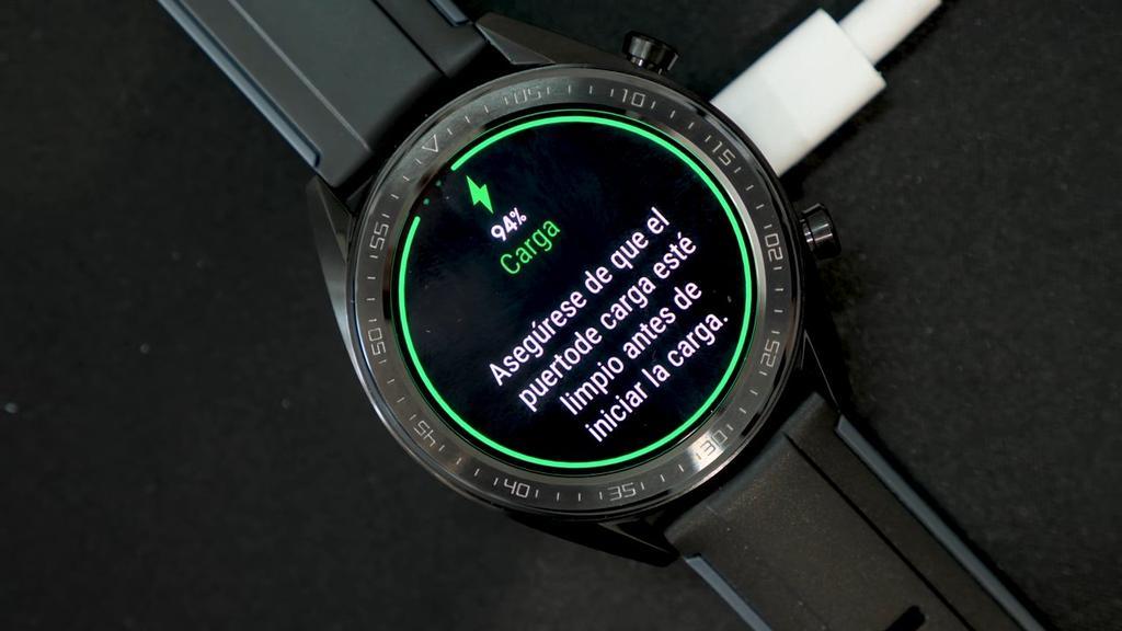 Huawei Watch GT cargando