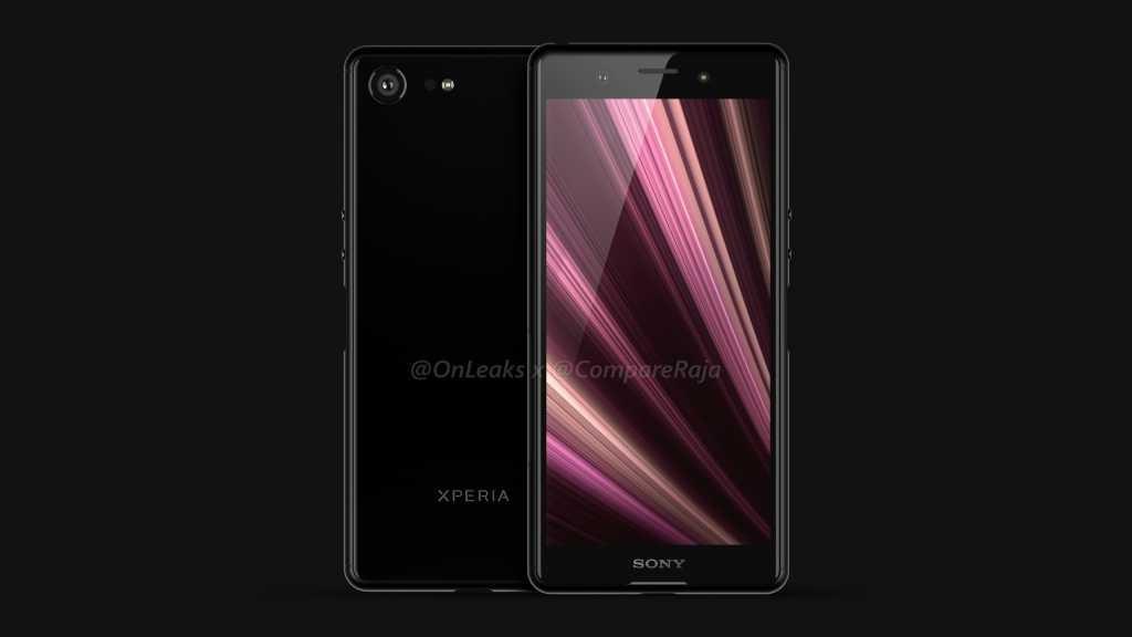 POsible diseño del Sony Xperia XZ4 Compact
