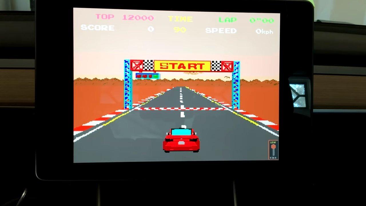 Pole Position en coche Tesla