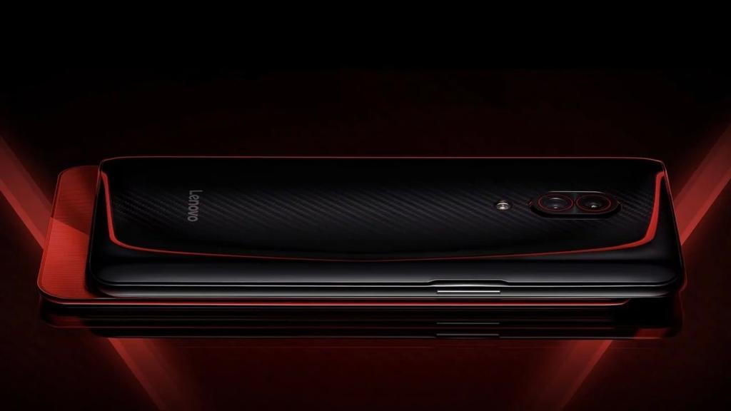 Imagen de la aprte tarsera del Lenovo Z5 Pro