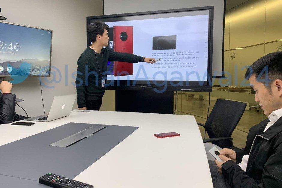 diseño del OnePlus 6T 5G