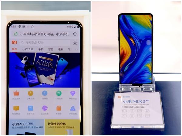 Teléfono Xiaomi Mi Mix 3 5G