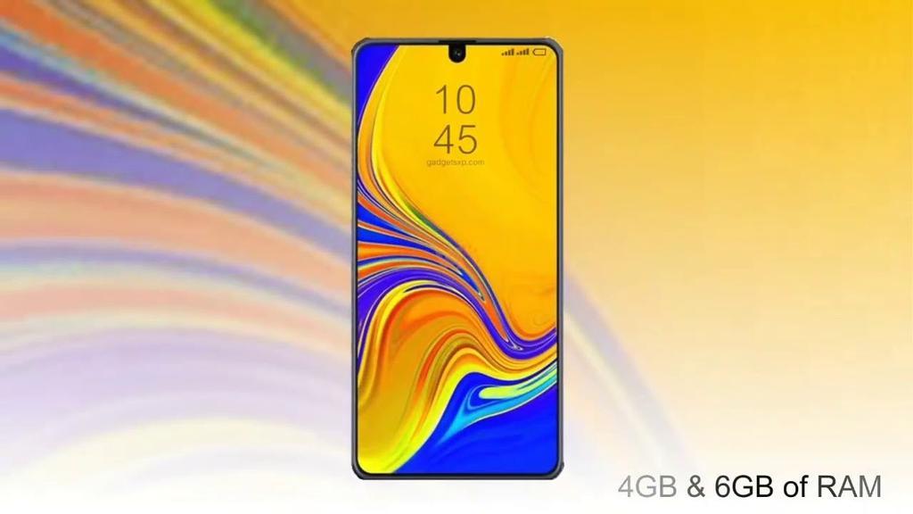 Concepto del Samsung Galaxy M20