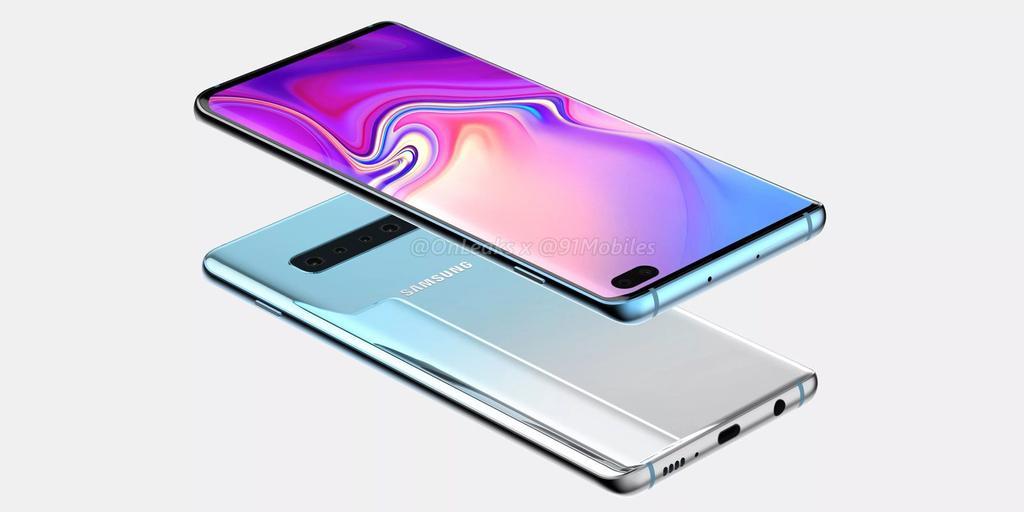 Concepto del Samsung Galaxy S10