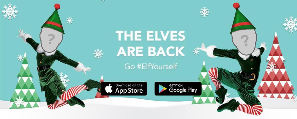ElfYourself para crear felicitaciones de Navidad en vídeo