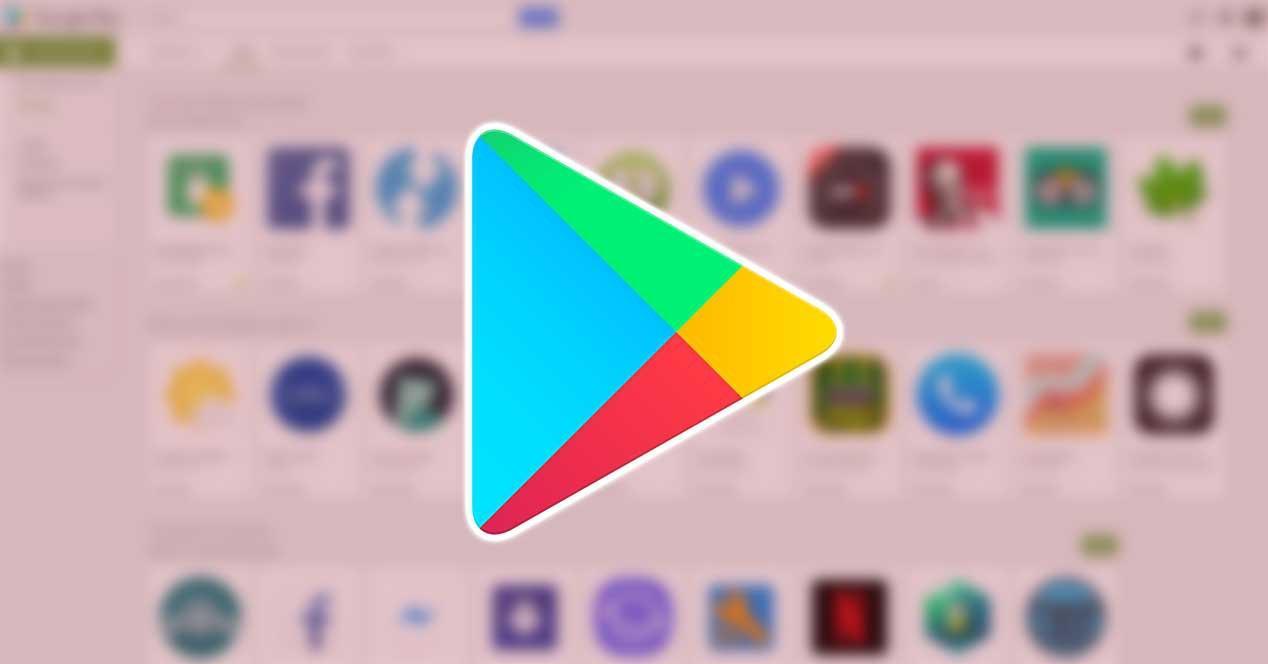 Logo Play Store de Google