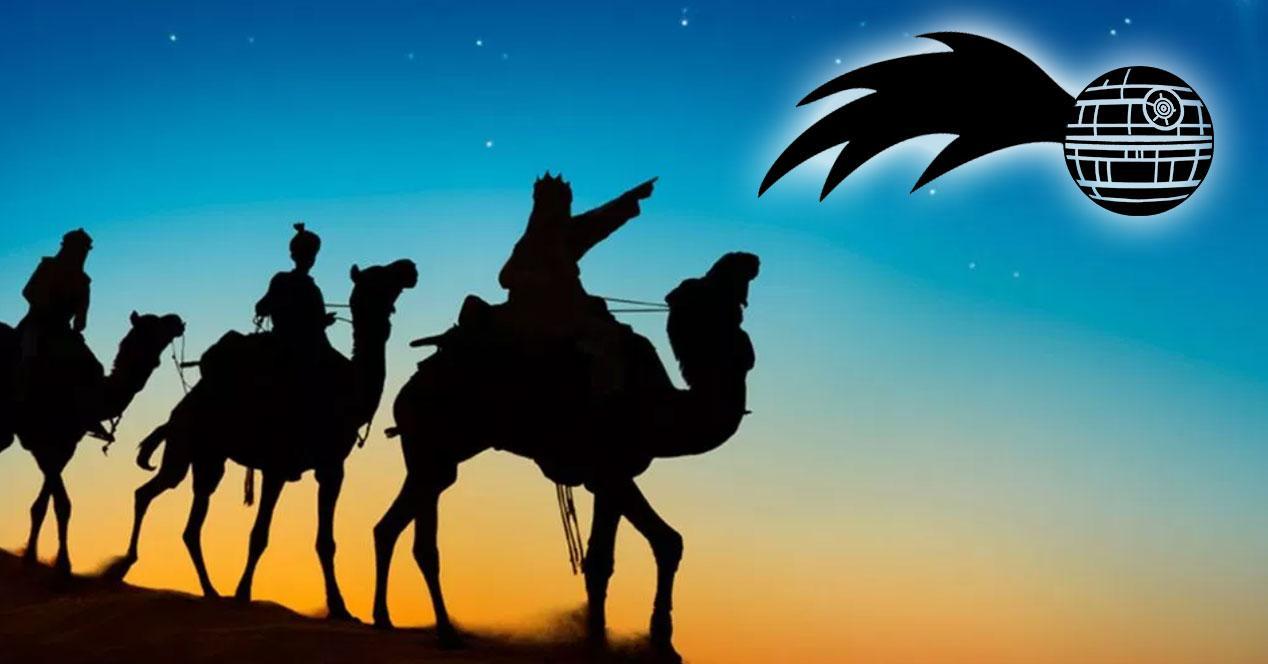 reyes magos estrella star wars friki regalos