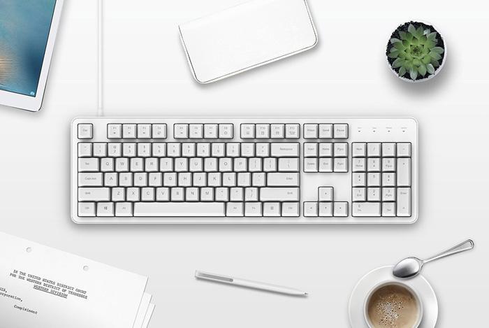 Diseño del teclado Xiaomi Cherry MX