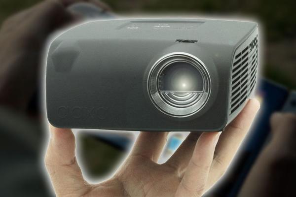 Proyector AAXA S1 Nintendo Switch de fondo