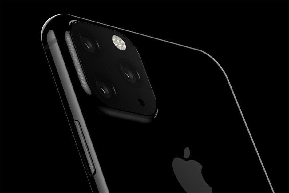 Posible cámara del iPhone 2019 con tres sensores