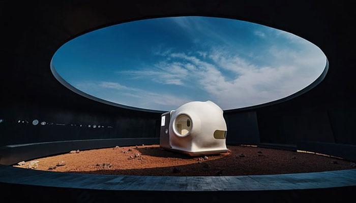 Diseño de la casa de Xiaomi para Marte