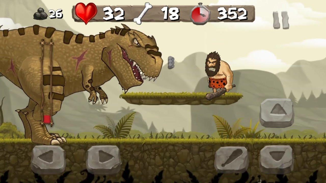 Juego Android Caveman Chuck Adventure