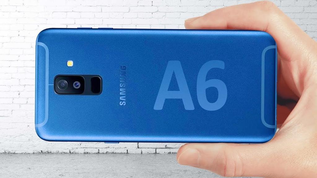 Diseño del Samsung Galaxy A6 2018