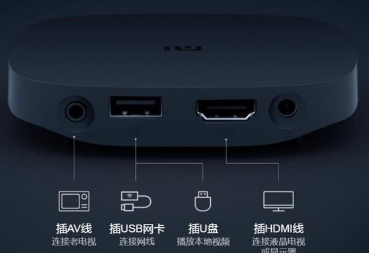 Conexiones integradas en el nuevo reproductor Xiaomi Mi Box 4 SE