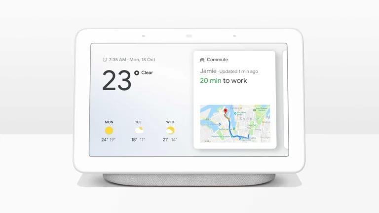 Pantalla inteligente Google Home Hub