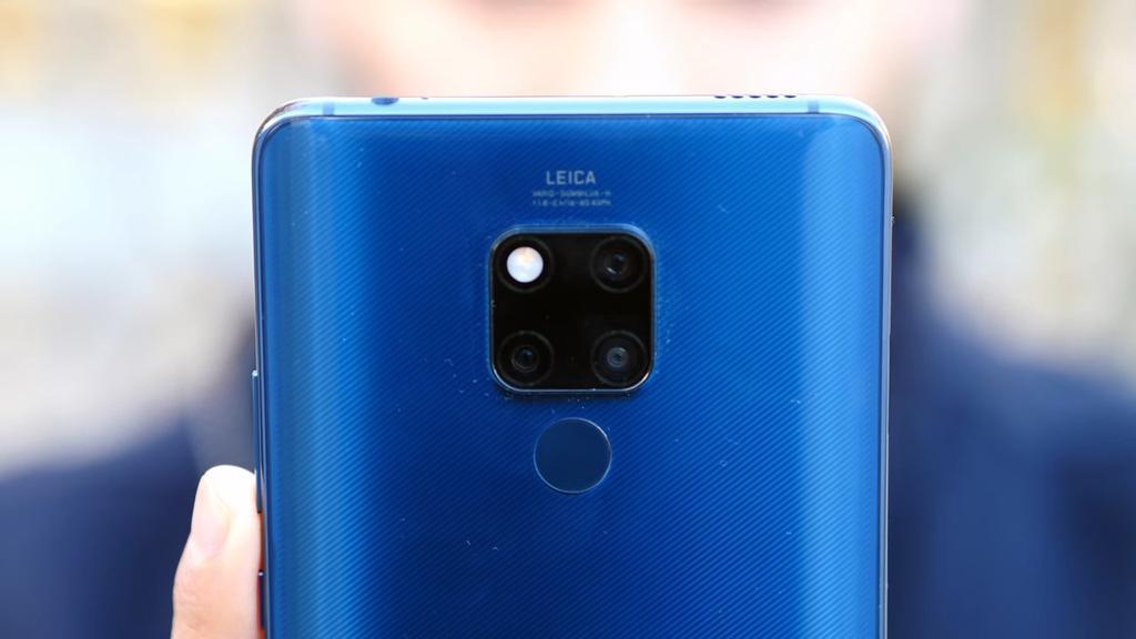 Cámara del Pantalla del Huawei Mate 20X