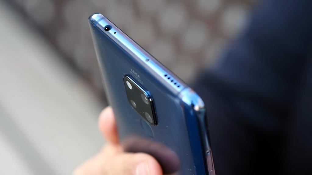Huawei Mate 20X por arriba