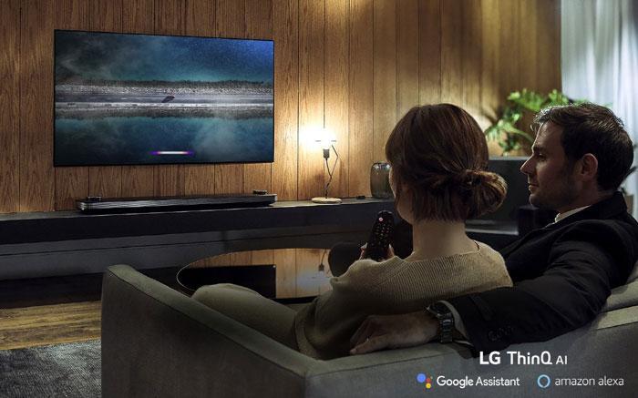 Asistentes en los nuevos LG OLED 8K de 2019