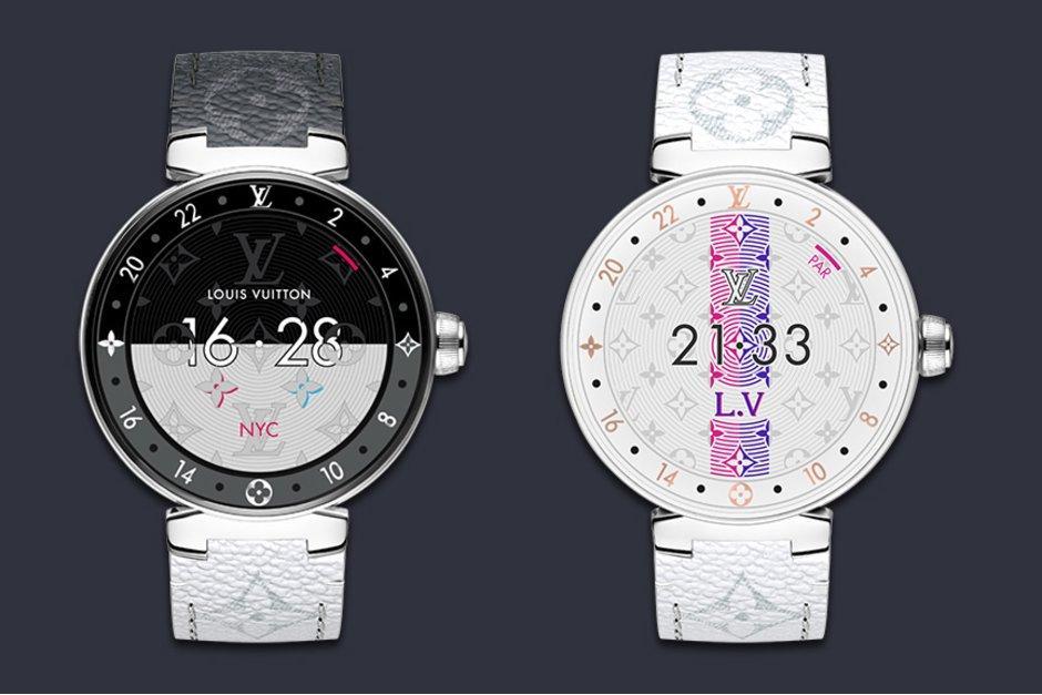 Nuevo diseño del reloj inteligente de Louis Vuitton