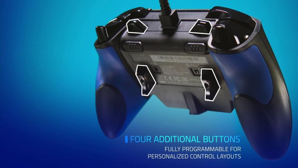 Mandos de PS4 Razer Raiju