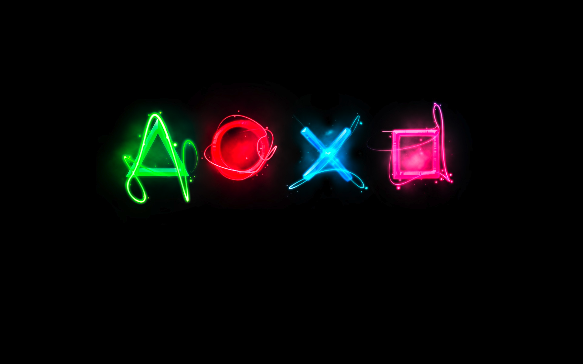 Logo de los botones de mandos de PS4