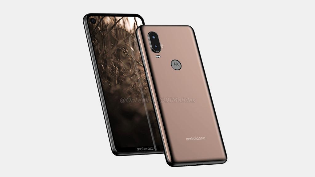 Diseño del teléfono Motorola P40