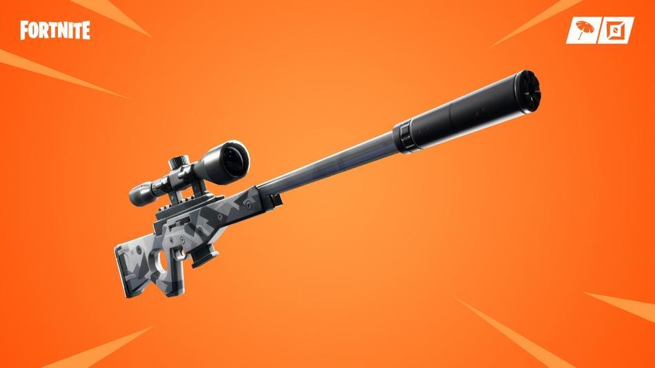 nuevo fusil francotirador en Fortnite