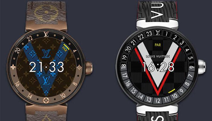 Diseño smartwatch de Louis Vuitton