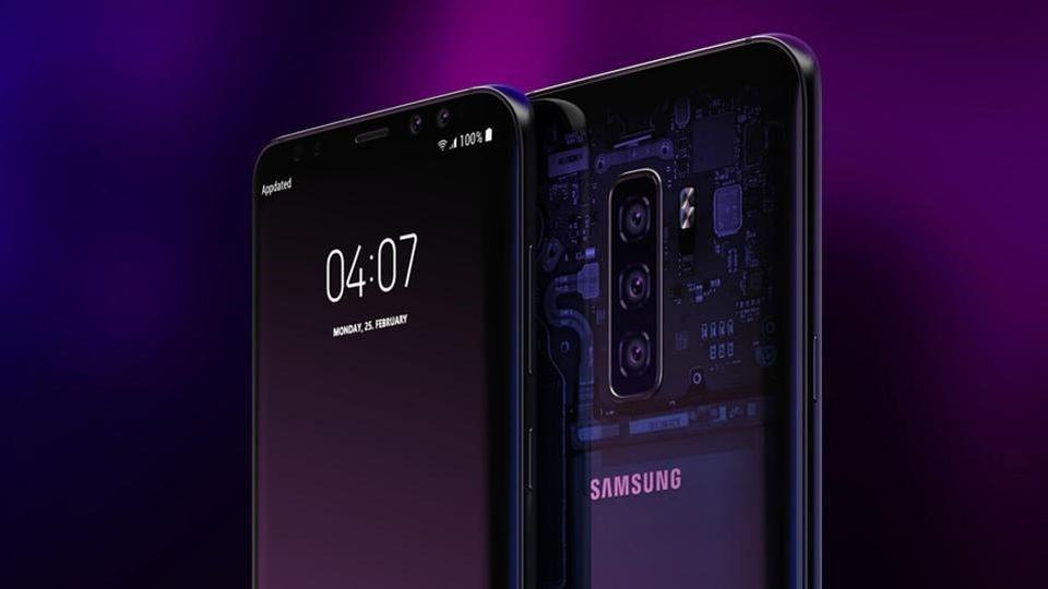 Concepto de cámara del Samsung Galaxy S10