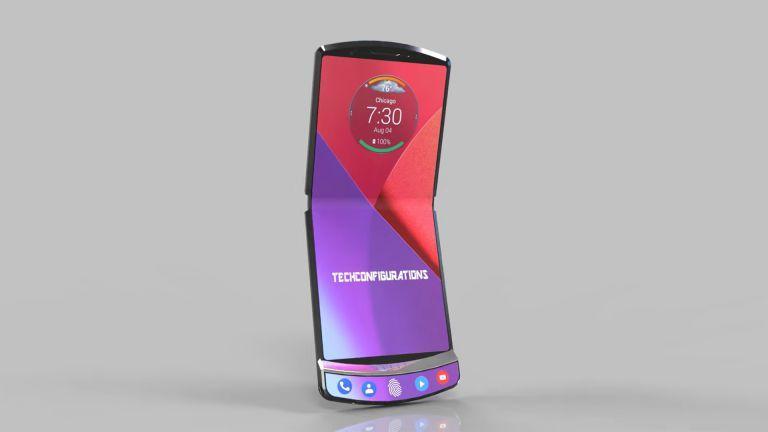 Teléfono plegable Motorola