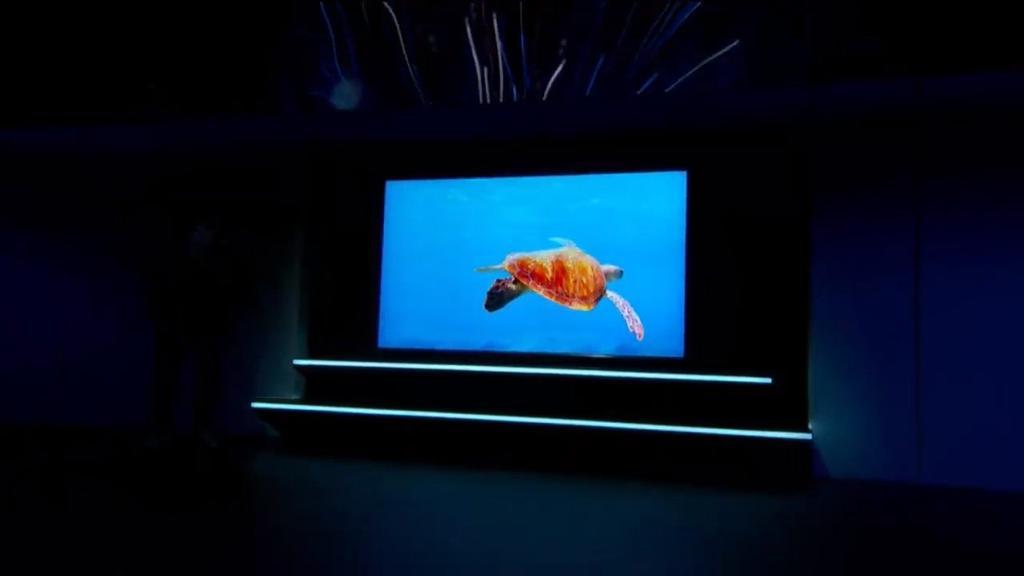 Nuevo televisor Samsung QLED con resolución 8K
