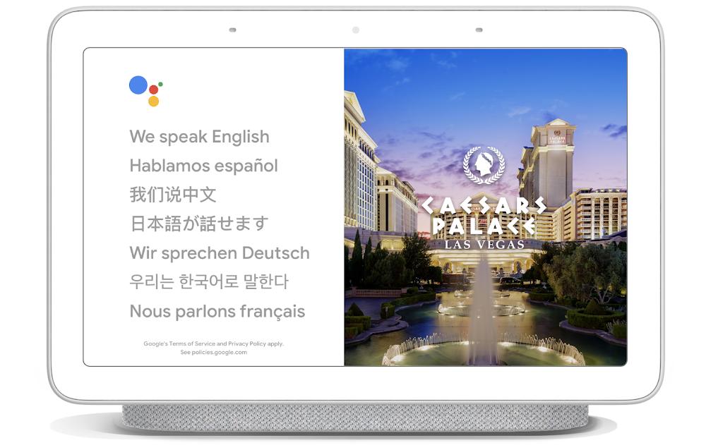 Nueva opción de traducción en el asistente de Google