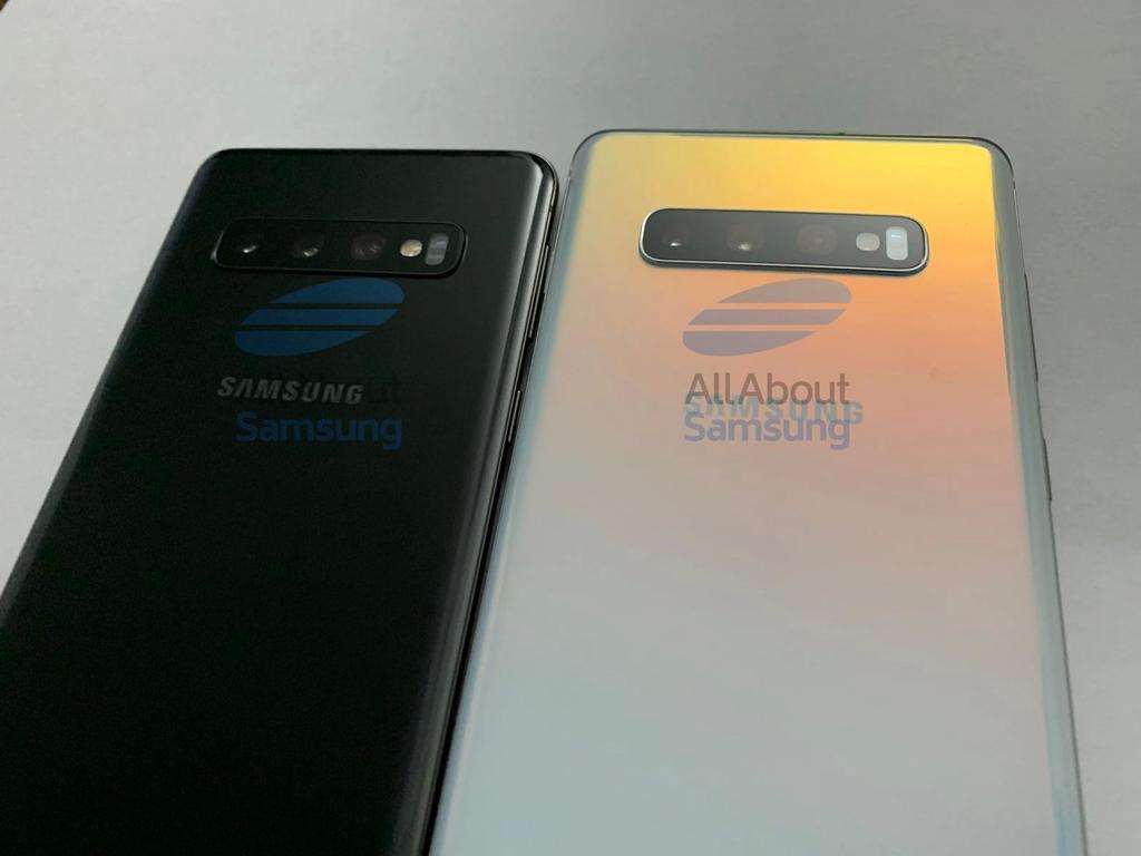 Imagen trasera del Samsung Galaxy S10