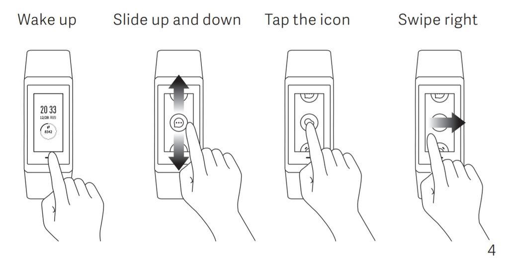 Uso pantalla de la pulsera Xiaomi Amazfit Cor 2
