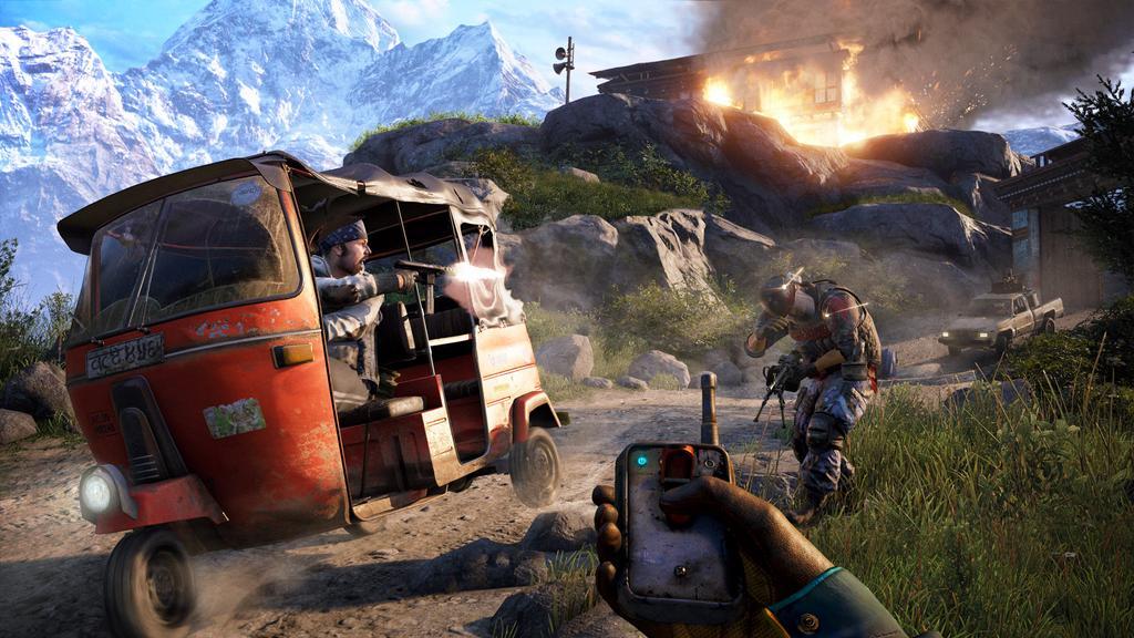 Escena del juego Far Cry 4