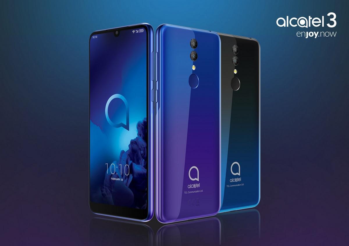 Diseño del Alcatel 3