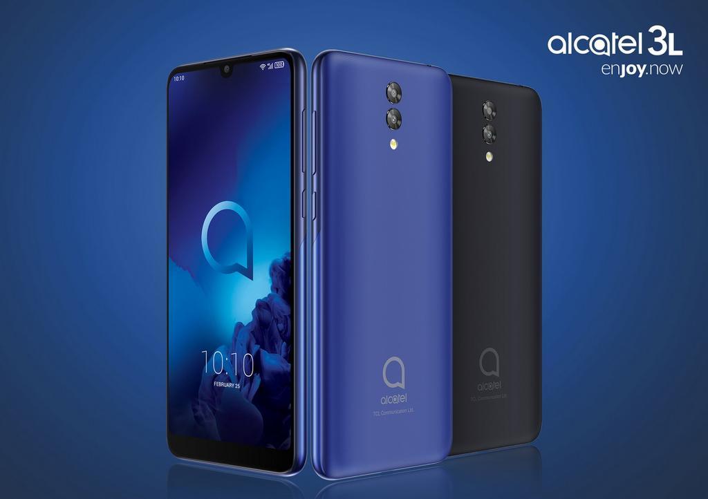 Diseño del Alcatel 3L