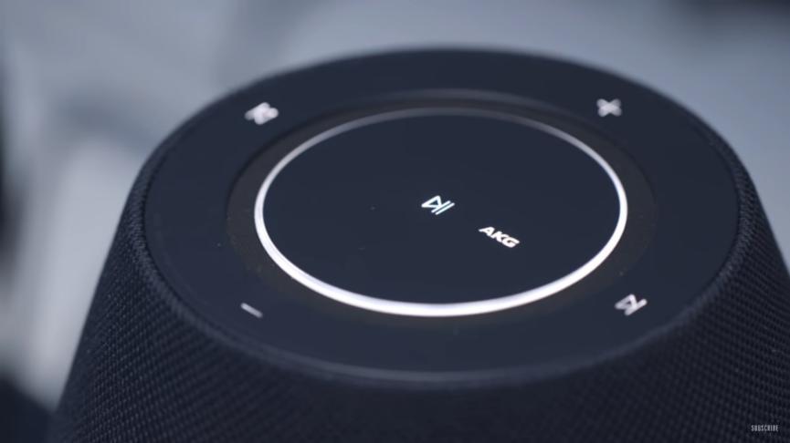 Botones del Samsung Galaxy Home