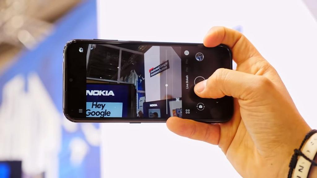 Aplicación cámara del Nokia 3.2