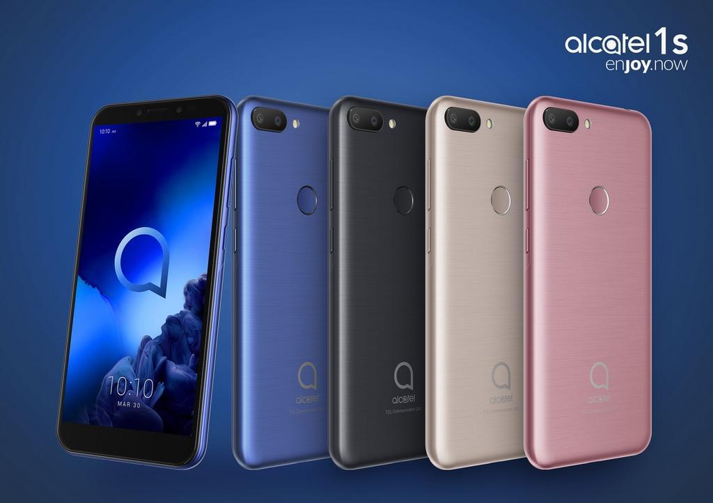 Diseño del Alcatel 1S