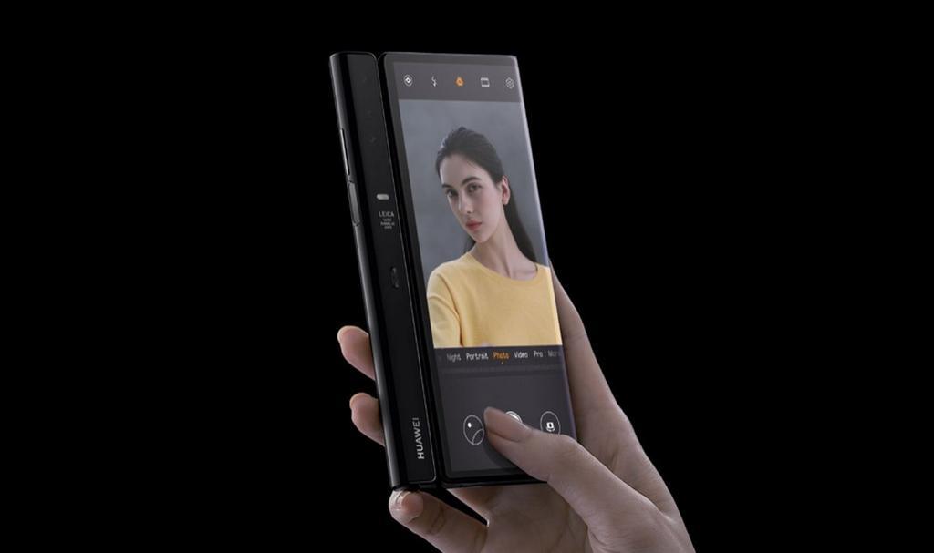 Cámara del Huawei Mate X