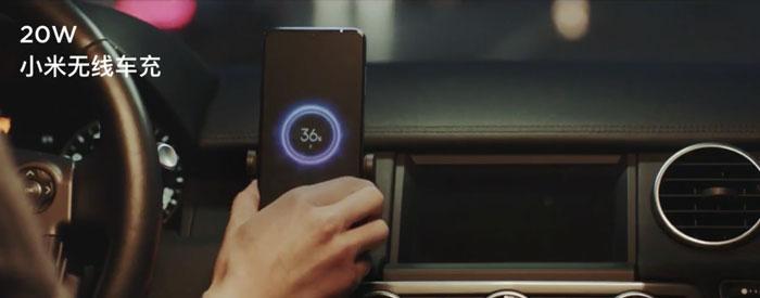 Cargador inalámbrico coche Xiaomi