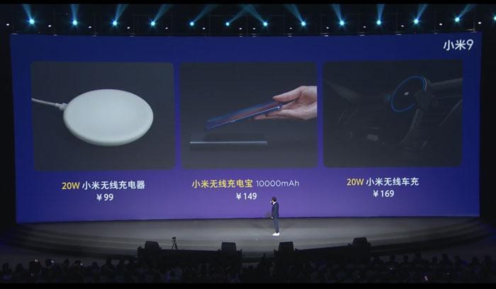 Cargador inalámbrico de Xiaomi