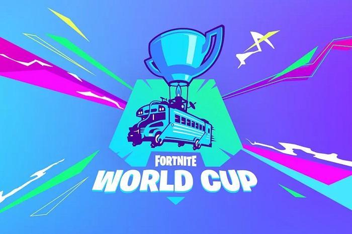 Anuncio copa del mundo de Fortnite